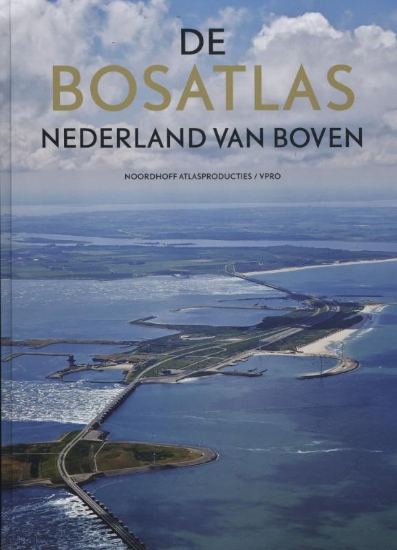 De Bosatlas bij Nederland van boven
