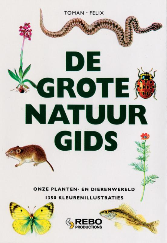 Grote rebo natuurgids